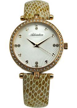 Швейцарские наручные  женские часы Adriatica 3695.9243QZ. Коллекция Femme Defile