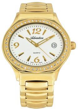 Швейцарские наручные  женские часы Adriatica 3697.1153QZ. Коллекция Ladies