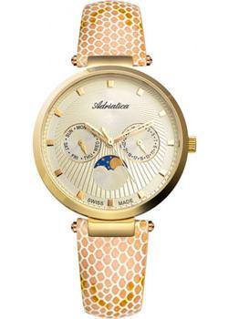Швейцарские наручные  женские часы Adriatica 3703.1241QF. Коллекция Multifunction