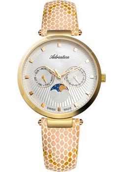 Швейцарские наручные  женские часы Adriatica 3703.1243QF. Коллекция Multifunction