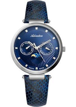 Швейцарские наручные  женские часы Adriatica 3703.5245QF. Коллекция Multifunction