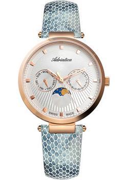 Швейцарские наручные  женские часы Adriatica 3703.9243QF. Коллекция Multifunction