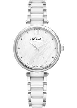 Швейцарские наручные женские часы Adriatica 3705.C18FQ. Коллекция Ceramic фото