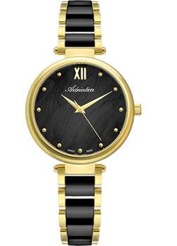 Швейцарские наручные  женские часы Adriatica 3705.F18MQ. Коллекция Ceramic