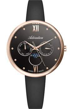 Швейцарские наручные  женские часы Adriatica 3732.R286QF. Коллекция Multifunction