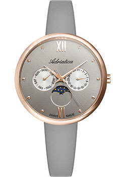Швейцарские наручные  женские часы Adriatica 3732.R287QF. Коллекция Multifunction