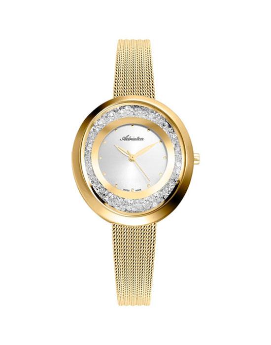 Швейцарские наручные  женские часы Adriatica 3771.1143QZ. Коллекция Freestyle