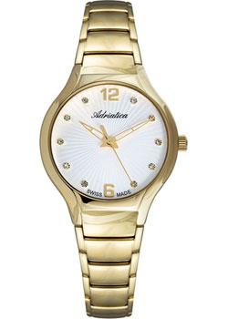 Швейцарские наручные  женские часы Adriatica 3798.1173Q. Коллекция Bracelet