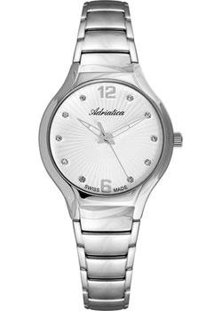 Швейцарские наручные  женские часы Adriatica 3798.5173Q. Коллекция Bracelet