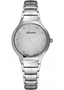 Швейцарские наручные  женские часы Adriatica 3798.5177Q. Коллекция Ladies
