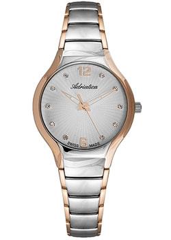 Швейцарские наручные  женские часы Adriatica 3798.R177Q. Коллекция Ladies