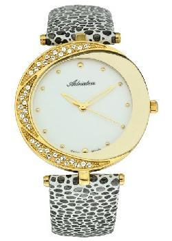 Швейцарские наручные  женские часы Adriatica 3800.1243QZ. Коллекция Zirconia
