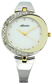 Швейцарские наручные  женские часы Adriatica 3800.2143QZ. Коллекция Zirconia