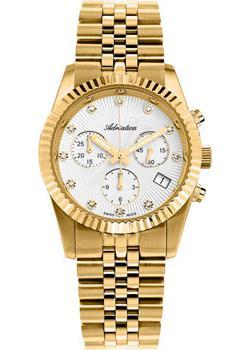 Швейцарские наручные женские часы Adriatica 3809.1143CH. Коллекция Chronograph