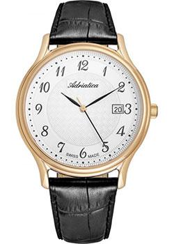 Швейцарские наручные мужские часы Adriatica 8000.1223Q. Коллекция Twin фото