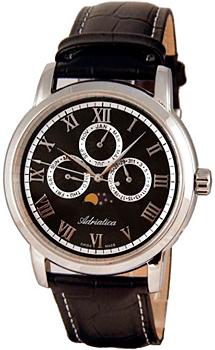 Швейцарские наручные мужские часы Adriatica 8134.5234QF. Коллекция Multifunction