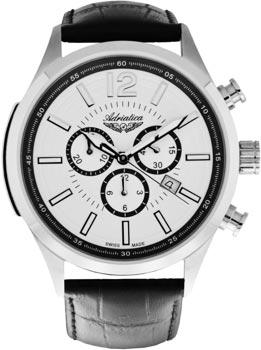 Швейцарские наручные мужские часы Adriatica 8188.5253CH. Коллекция Chronograph