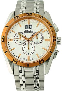 Швейцарские наручные мужские часы Adriatica 8202.R113CH. Коллекция Chronograph