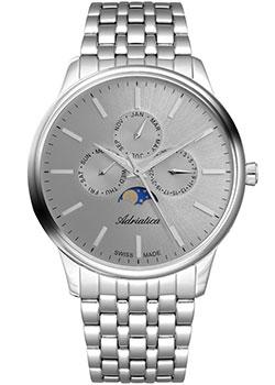 Швейцарские наручные мужские часы Adriatica 8262.5117QF. Коллекция Multifunction фото