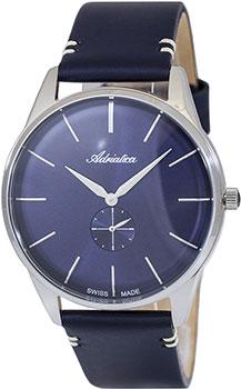 Швейцарские наручные мужские часы Adriatica 8264.5215Q. Коллекция Twin фото
