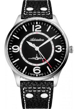 Швейцарские наручные мужские часы Adriatica 8266.5254Q. Коллекция Aviation фото