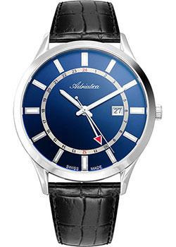 Швейцарские наручные мужские часы Adriatica 8289.5215Q. Коллекция Multifunction фото