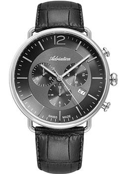 Швейцарские наручные мужские часы Adriatica 8299.5256CH. Коллекция Chronograph фото