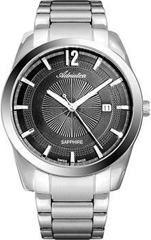 Швейцарские наручные мужские часы Adriatica 8301.5156Q. Коллекция Premiere фото