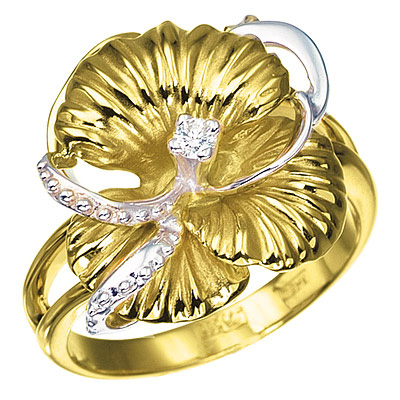 Золотое кольцо  K-14029