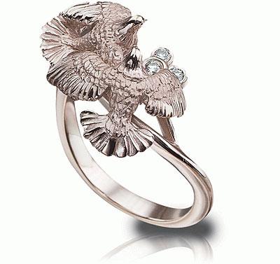 Золотое кольцо  K-22038