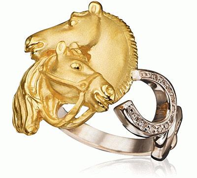 Золотое кольцо  K-24035