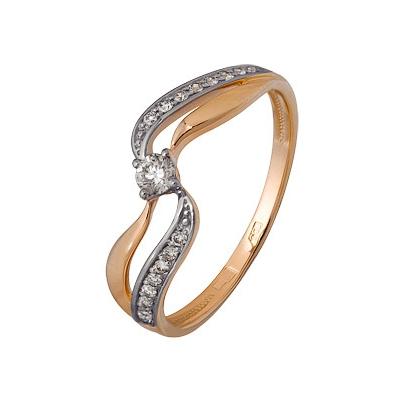 Золотое кольцо A1000202665 фото