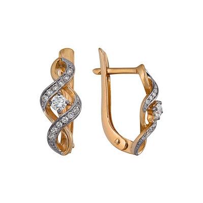 Золотые серьги  Ювелирное изделие A1000212661