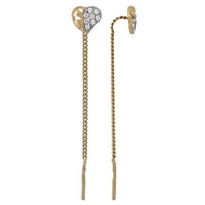 Золотые серьги  A1200212057