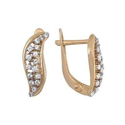 Купить Серьги Золотые серьги  A1200212575L  Золотые серьги  A1200212575L