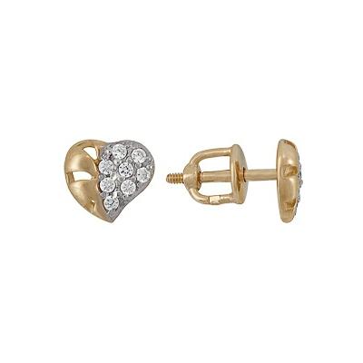 Золотые серьги  A1200215145