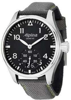 Швейцарские наручные мужские часы Alpina AL-280B4S6. Коллекция Aviation