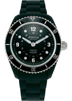 Швейцарские наручные  женские часы Alpina AL-281BS3V6. Коллекция Horological Smartwatch