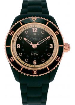 Швейцарские наручные  женские часы Alpina AL-281BY3V4. Коллекция Horological Smartwatch