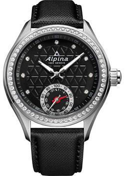 Швейцарские наручные  женские часы Alpina AL-285BTD3CD6. Коллекция Horological Smartwatch