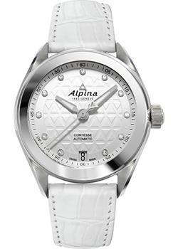 Швейцарские наручные  женские часы Alpina AL-525STD2C6. Коллекция Comtesse Automatic