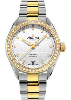 Швейцарские наручные женские часы Alpina AL-525STD2CD3B. Коллекция Comtesse Automatic