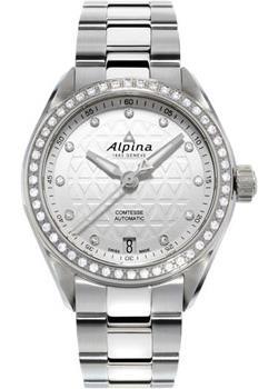 Швейцарские наручные женские часы Alpina AL-525STD2CD6B. Коллекция Comtesse Automatic