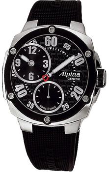 Швейцарские наручные мужские часы Alpina AL-650BB5AE6. Коллекция Avalanche
