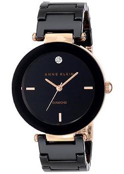 fashion наручные  женские часы Anne Klein 1018RGBK. Коллекция Diamond
