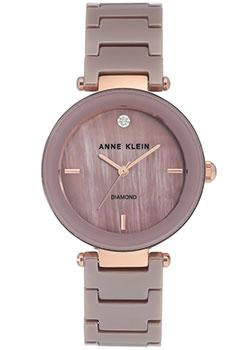 fashion наручные  женские часы Anne Klein 1018RGMV. Коллекция Diamond.