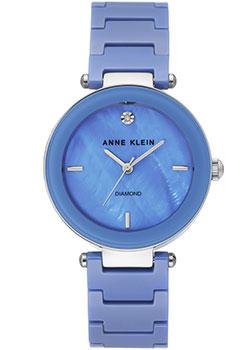 fashion наручные  женские часы Anne Klein 1019LBSV. Коллекция Diamond.