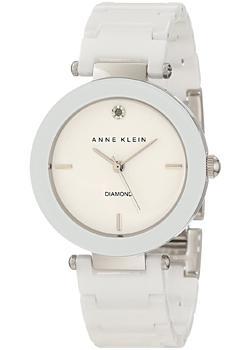 fashion наручные  женские часы Anne Klein 1019WTWT. Коллекция Diamond