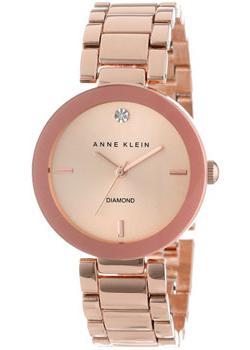 fashion наручные  женские часы Anne Klein 1362RGRG. Коллекция Diamond