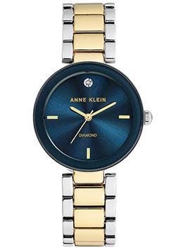 Fashion наручные женские часы Anne Klein 1363NVTT. Коллекция Diamond фото
